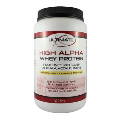 Brad King Ultimate High Alpha Whey Protein - Tropical Vanilla 750 g