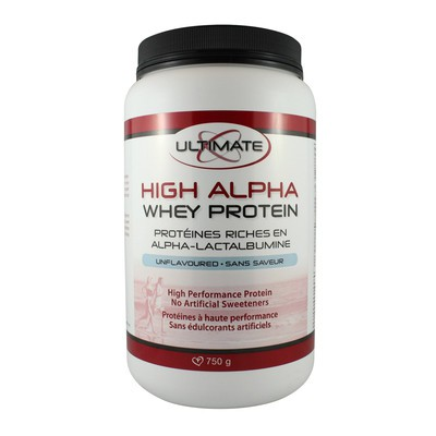 Brad King Ultimate High Alpha Whey Protein - Unflavoured 750 g