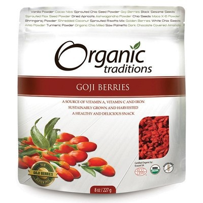 Organic Traditions Goji Berries 454 g