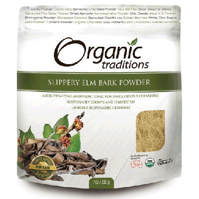 Organic Traditions Slippery Elm Bark Powder  200 g
