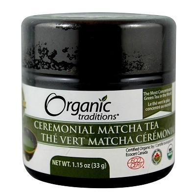Organic Traditions Ceremonial Matcha Tea 1.15oz (33g)
