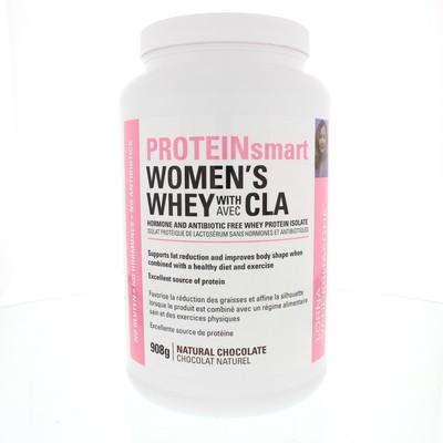 Lorna Vanderhaeghe PROTEINsmart Women's Whey with CLA - Chocolate 908 g