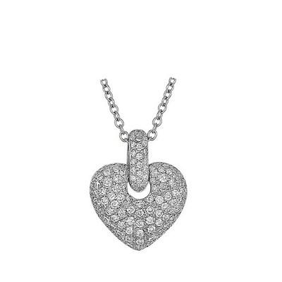 Lumax Design Diamond Heart Pendant.
