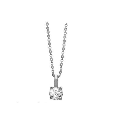 Lumax Design Diamond Solitaire Pendant.