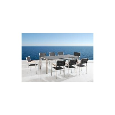 Patio Dining Set - GROSSETO 8