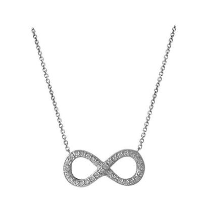Lumax Design Diamond Infinity Pendant.