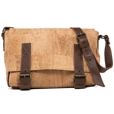 CORK MESSENGER BAG VEGAN GIFT