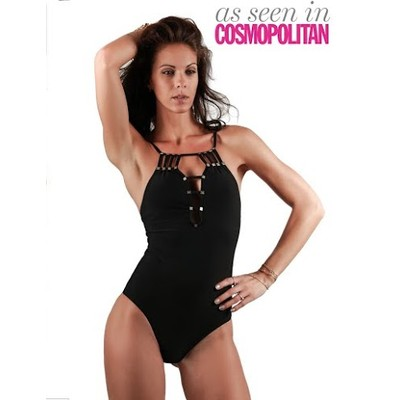 ONE PIECE SWIMSUIT in black