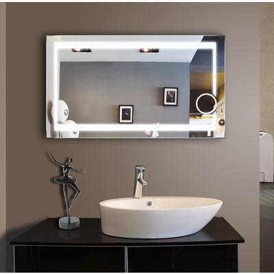 Bathroom LED Mirror Aurora 48'' X 28''