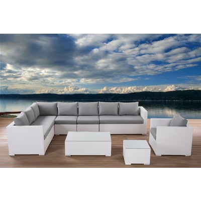Outdoor Lounge - Model GENEROSO White