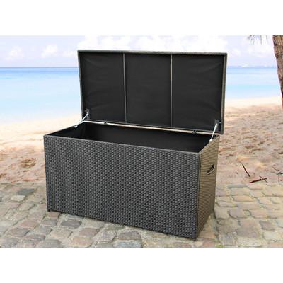 Outdoor Wicker Storage Box - CASSONE