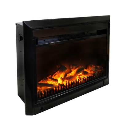 "25"" Electric Fireplace Insert"