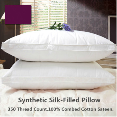 Synthetic Pillow (Feel Like Down) 1 pair (2 Pieces) 350TC