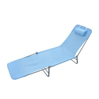 Mesh Sun Lounge Chair - Blue