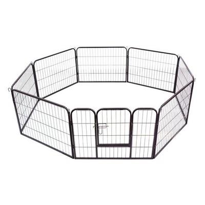 """24"""" 8-Panel Heavy Duty Pet Dog Playpen"""