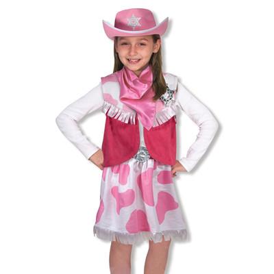 Melissa & Doug Costume-Cowgirl