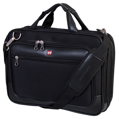 "Swiss Gear Scan Smart Deluxe Messenger. Fits most 17"" laptop computer"