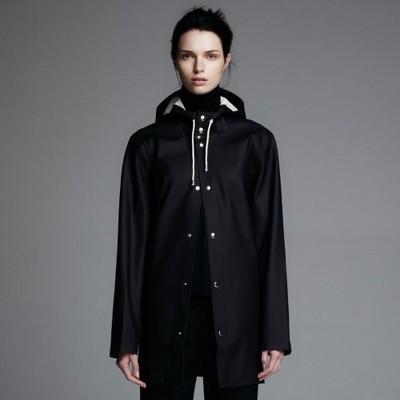 Black Stockholm Raincoat