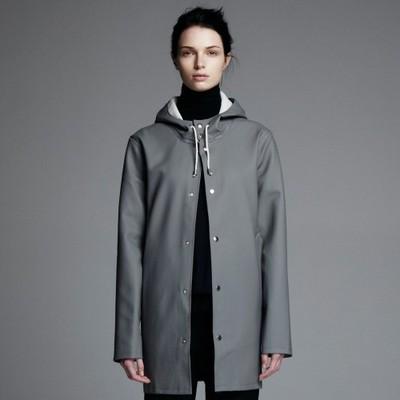 Grey Stockholm Raincoat