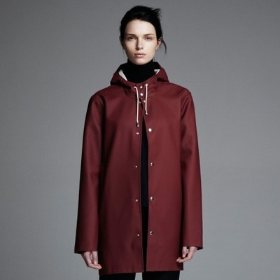 Burgundy Stockholm Raincoat