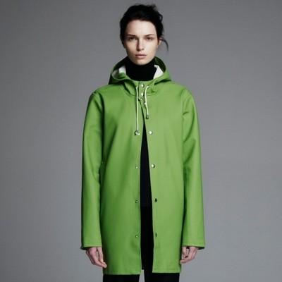 Grass Green Stockholm Raincoat