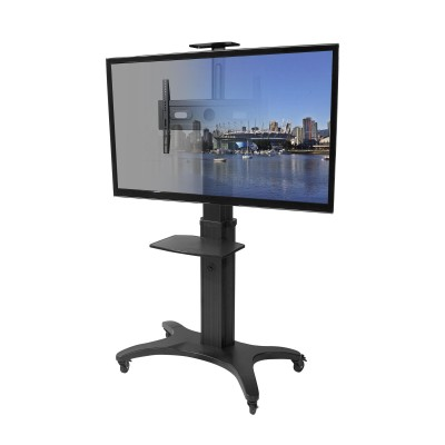 Kanto MTMA70PL Mobile TV Mount with Adjustable Shelf for 40-inch to 70-inch TVs  (800152715179)