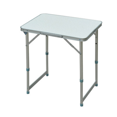 "Aluminum Folding Portable Picnic Camp Table - 23.5"" x 17.5""W"