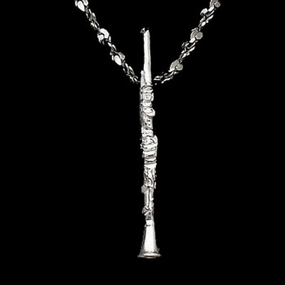 Sterling Silver DiamondCut Musical Charms - Various Styles