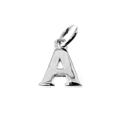 Sterling Silver Alphabetic Charms A thru Z