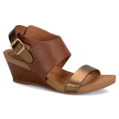 Sofft Vanita Wedge Sandal - Tan/ Bronze