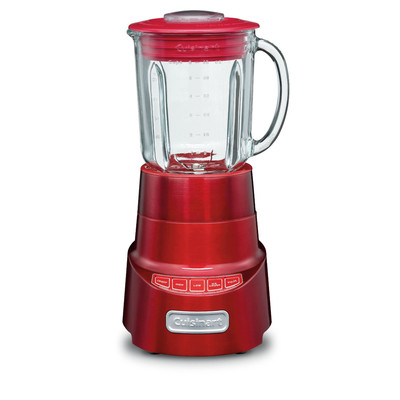 Cuisinart SmartPower Deluxe Die-Cast Blender, Red (SPB-600MRC)
