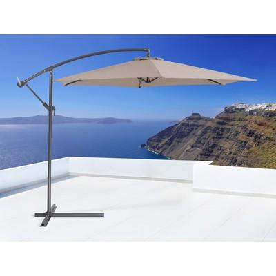 Outdoor Cantilever Umbrella - Patio, Garden & Deck - CAVALLI mocha