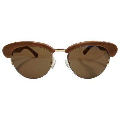 Bamboo sunglasses - retro style