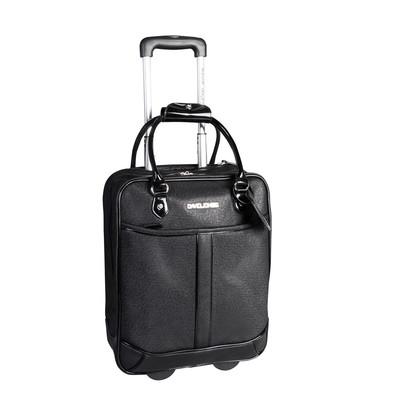 David Jones Black Briefcase on wheels