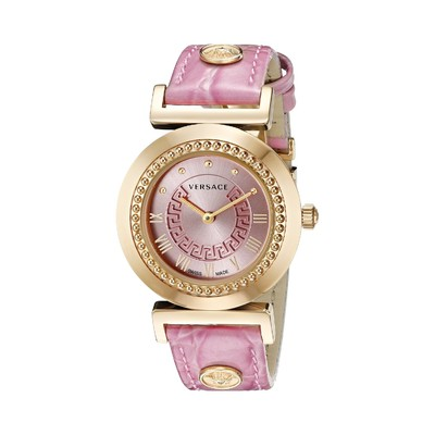Versace Women's P5Q80D111 S111 VANITY Analog Display Quartz Pink Watch