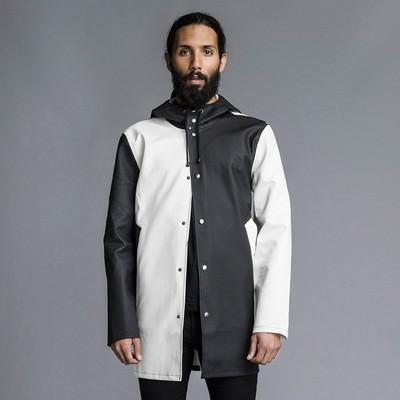 Harlequin Black/White Stockholm Raincoat