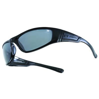 KRUGAR - Polished Black with Slate Polarized+ Lens