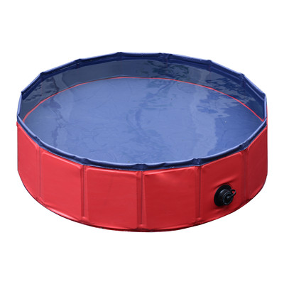 """63"""" Home Outdoor  Folding Pet Dog Swimming Pool"""