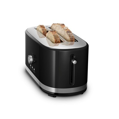 Toaster - Long slot - Black