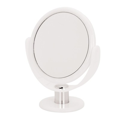 Ultra Vue Vanity Coloured Tortoise Mirrors - Alabaster