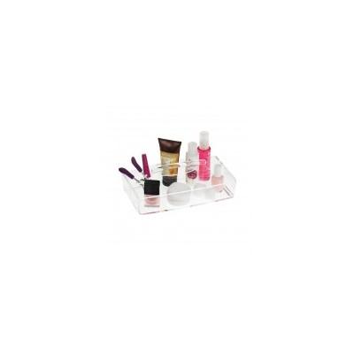 Beauty Organizers - 2 Side Vanity Acrylic Tray