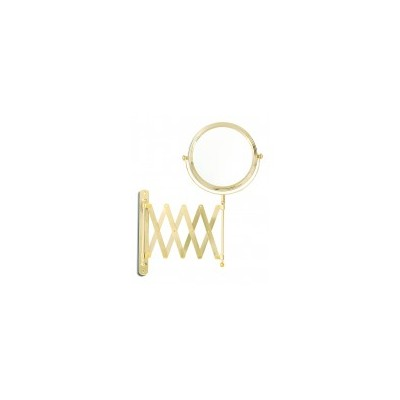 Gold Plated Extendable Wall Mount Mirror