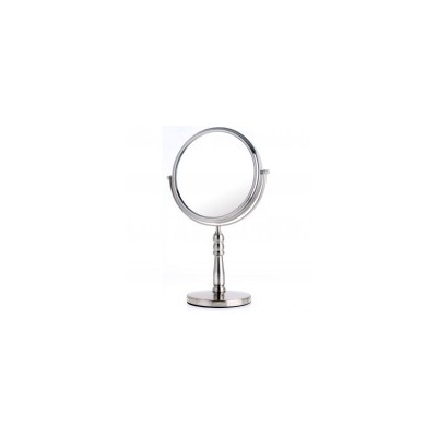 Satin Nickel Classic Vanity Mirror