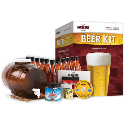 MR. Beer North American Edition Complete Brewing System