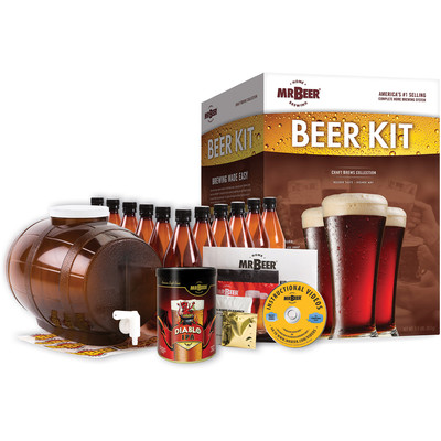 MR. Beer Craft Brews Edition Complete Brewing System