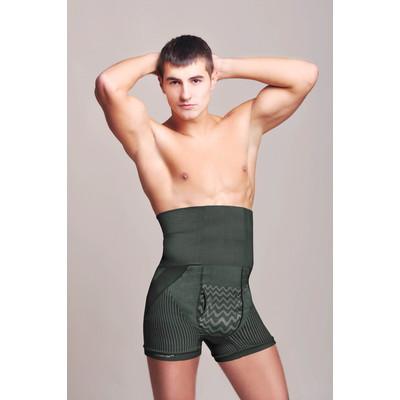 Men's Shaping Aloe Shorts - Black