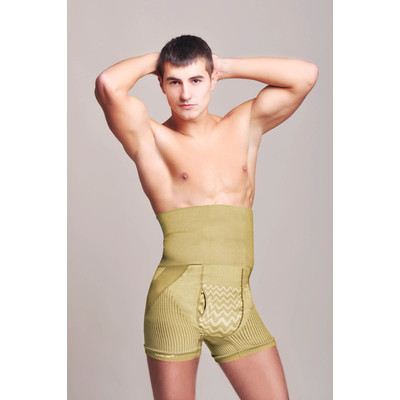 Men's Shaping Cooling Shorts - Nude