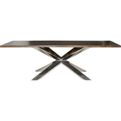 """Seared Oak Couture Dining Table - 40"""" x 96"""""""