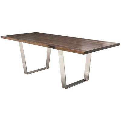 """Seared Oak Versailles Dining Table 40"""" x 96"""""""