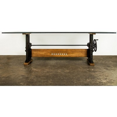 Le Loi Fumed Oak Dining Table